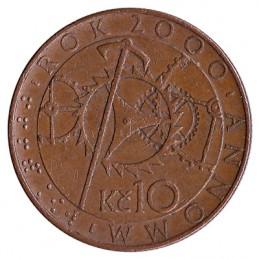 10 koron czeskich - zdjęcie 2