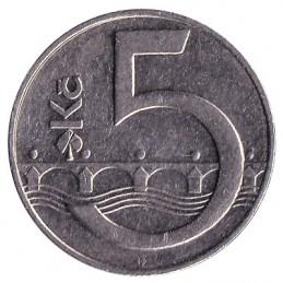 5 koron czeskich