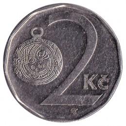 2 korony czeskie