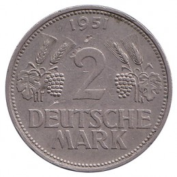 2 marki - awers