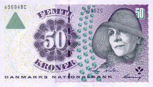 50 koron duńskich