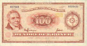 100 koron duńskich - banknot 3