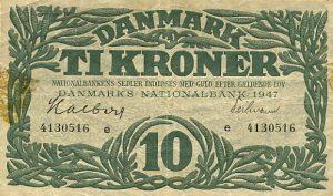 10 koron duńskich - banknot 3