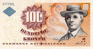 100 koron duńskich