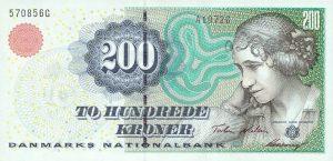 200 koron duńskich