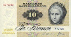 10 koron duńskich