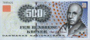 500 koron duńskich