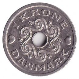 1 korona duńska