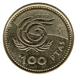 100 peset hiszpańskich