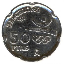 50 peset hiszpańskich