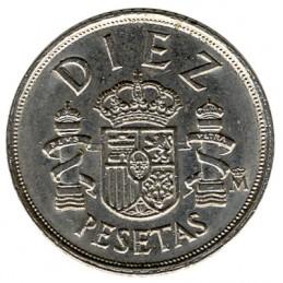 10 peset hiszpańskich