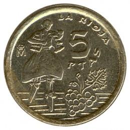 5 peset hiszpańskich