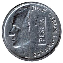 1 peseta hiszpańska