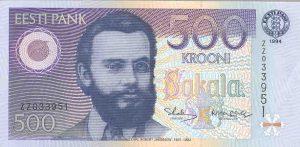 500 koron estońskich