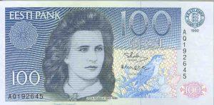 100 koron estońskich