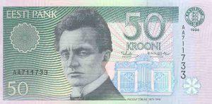 50 koron estońskich
