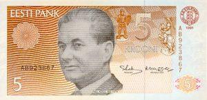 5 koron estońskich