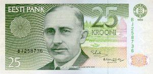 25 koron estońskich