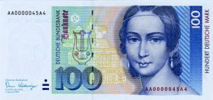 100 marek niemieckich - banknot 2