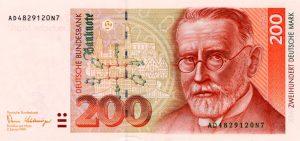200 marek niemieckich