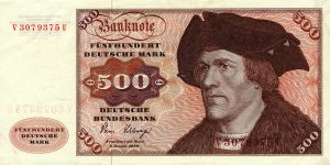 500 marek niemieckich