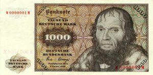 1000 marek niemieckich