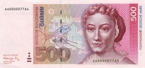 500 marek niemieckich - banknot 2