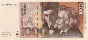 1000 marek niemieckich - banknot 2