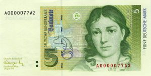 5 marek niemieckich - banknot 2