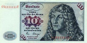 10 marek niemieckich