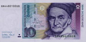 10 marek niemieckich - banknot 2