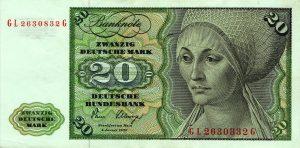 20 marek niemieckich