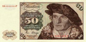 50 marek niemieckich