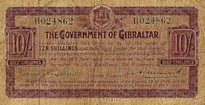 10 szylingów gibraltarskich - banknot 2