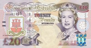 20 funtów gibraltarskich - banknot 2