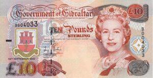 10 funtów gibraltarskich - banknot 2