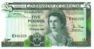5 funtów gibraltarskich