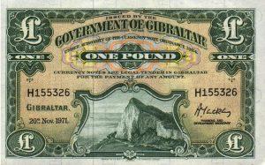 1 funt gibraltarski - banknot 2