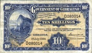 10 szylingów gibraltarskich