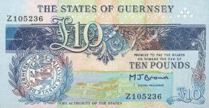 10 funtów guernsey