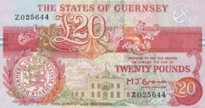 20 funtów guernsey