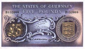 5 funtów guernsey