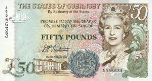 50 funtów guernsey