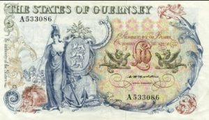 10 funtów guernsey - banknot 2