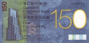 150 dolarów hongkońskich