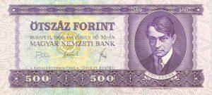 500 forintów węgierskich - banknot 2