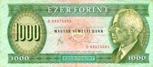 1000 forintów węgierskich - banknot 2