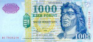 1000 forintów węgierskich - banknot 3