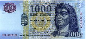 1000 forintów węgierskich - banknot 4