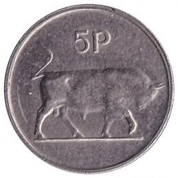 5 pensów irlandzkich